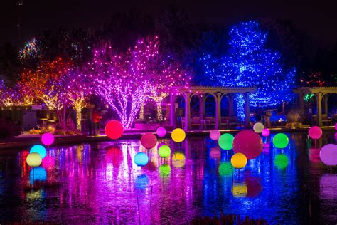 Denver Botanic Gardens Blossoms Of Light Winter In The City 5280