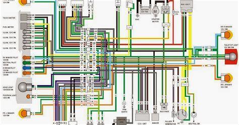 skema kelistrikan motor diagram kelistrikan tiger revo