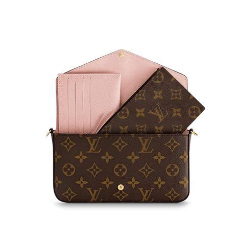 monogram goods luxury monogram pochette felicie louis vuitton