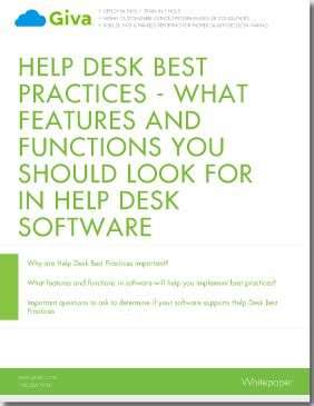 It Help Desk Industry Best Practice Whitepapers Giva
