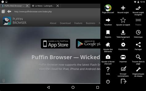 Android Zone by Puffin Navigateur Et Support Flash Android Zone