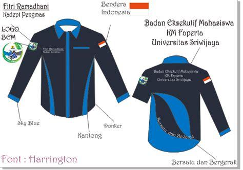 desain kemeja menggunakan corel draw n ashifah s blog design kemeja organisasi menggunakan