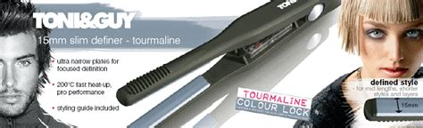Toni And Guys Digital Tourmaline Palm Dryer by Toni 15mm Ceramic Narrow Slim Definer Defining Hair
