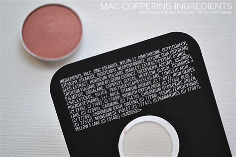 weekend ramblings makeup swatches tutorials reviews mac eyeshadow coppering