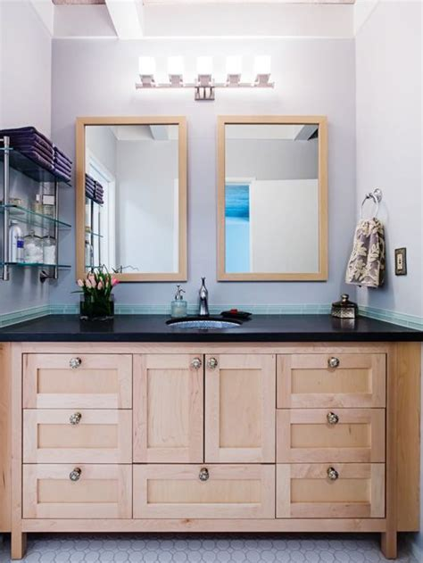 maple vanity houzz