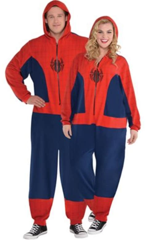 adult zipster spiderman  piece costume  size