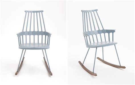 designboom rocking chair patricia urquiola clap comback rocker for kartell