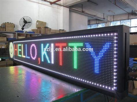 Led Matrix P10 dip 1r1g1b outdoor p10 16x16 rgb led matrix display ce