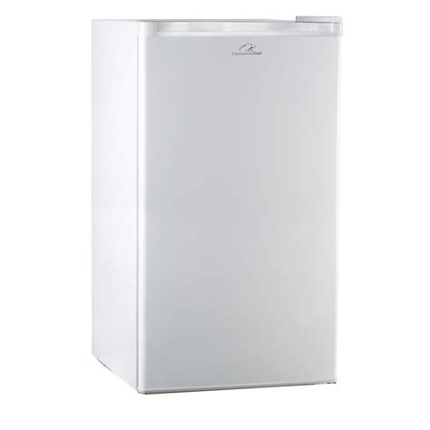 Freezer Es Mini Commercial Cool 3 2 Cu Ft Mini Refrigerator With Freezer In White Shop Your Way