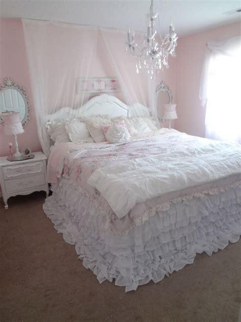 not so shabby shabby chic my new ruffly bedding i