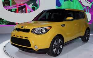 Yellow Kia Soul 2016 Kia Soul Solar Yellow Inferno Paint Finishes