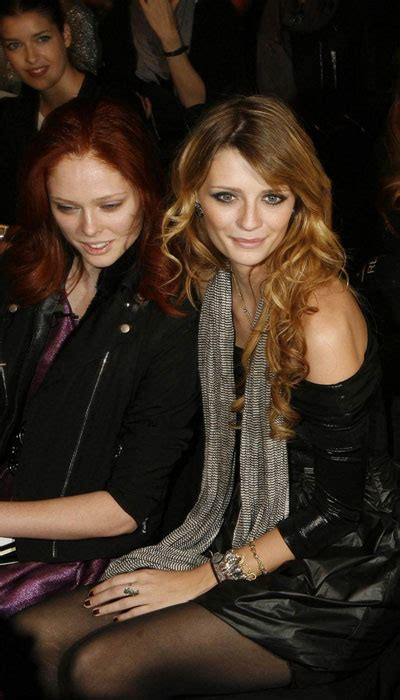 The Olsens And Mischa Barton At The Hton Social New York by Mischa Barton Shows During Ny Fashion