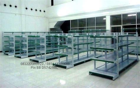 Rak Minimarket Padang pusat perlengkapan toko modern rak gondola software