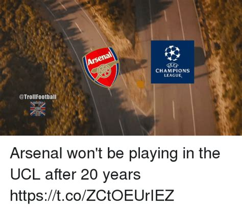Football Memes Arsenal - football arsen ef chions league arsenal won t be