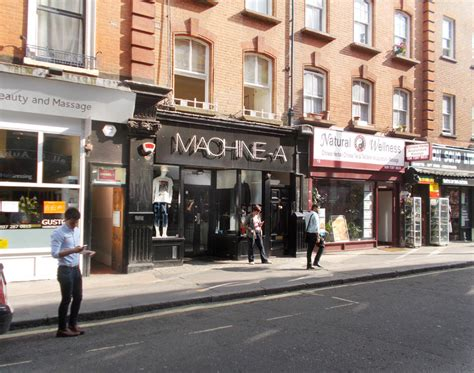 A Machine machine a fashion shop in s soho