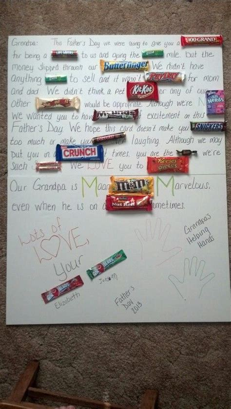 Fathers Daydy Card  Ee  For Grandpa Ee   From His Two  Ee  Grandkids Ee