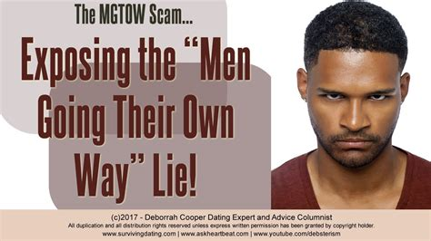 short men mgtow youtube mgtow the men going their own way scam deborrah cooper