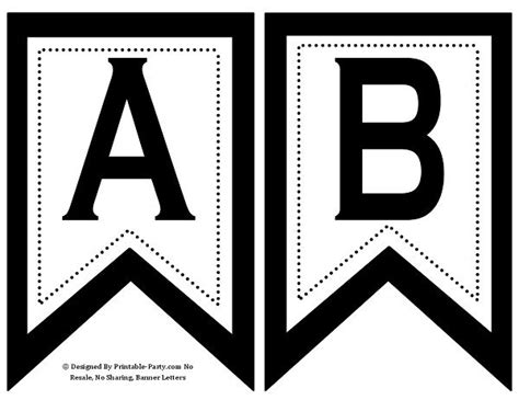 free printable alphabet banner template printable alphabet letters templates stencils that