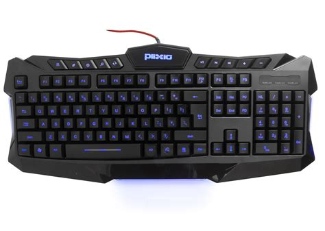 Keyboard Laptop Led plixio led backlit light up wired usb gaming color changing keyboard pc laptop ebay