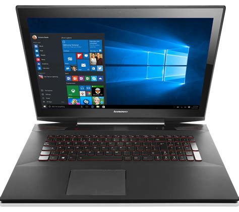 Laptop Lenovo Y70 buy lenovo lenovo y70 17 3 touchscreen gaming laptop black free delivery currys