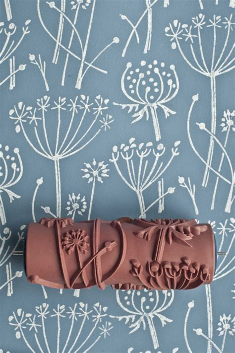 patterned paint roller tussock patterned paint roller by patternedpaintroller on etsy