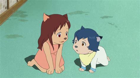 anime film wolves movie review ookami kodomo no ame to yuki wolf children