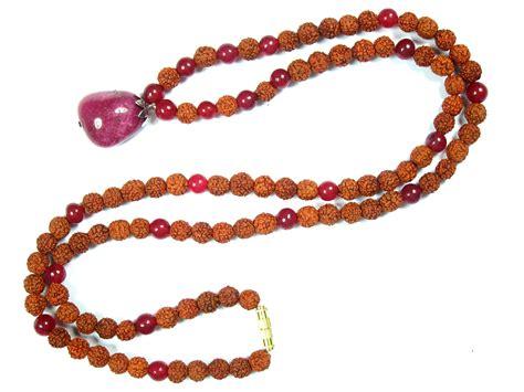 Handmade Mala - handmade mala prayer bead necklace mogulinteriorsite