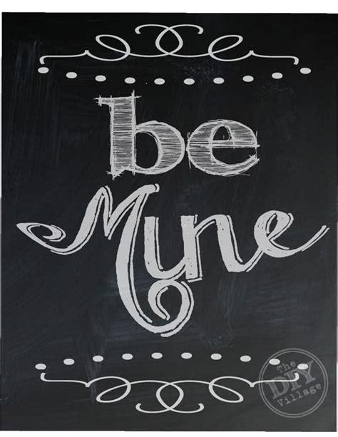 8 best images of printable chalkboard art free printable valentine s day chalkboard printables the diy village