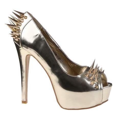 club shoes new womens high heel peep toes club shoes spike
