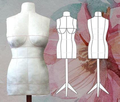 pattern review dress form edit pattern diy dress form pdf sewing pattern size 14