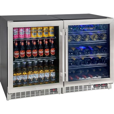 under bench wine fridge 3 zone beer and wine under bench refrigerator made for red