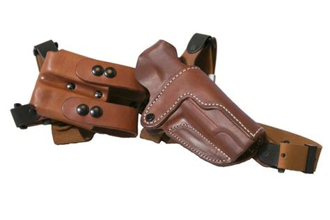 Handmade Leather Shoulder Holster - leather shoulder holster the simple shoulder holster ssr