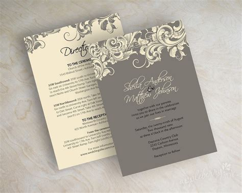 wedding announcements and reception invitations wedding invitations template best template