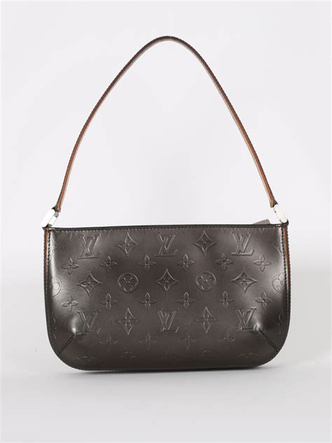 louis vuitton fowler pochette monogram matt luxury bags