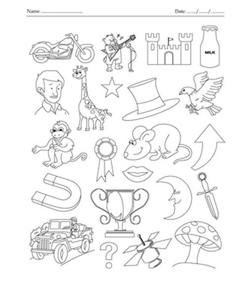 coloring pages that start with the letter m color the picture which start with letter m printable