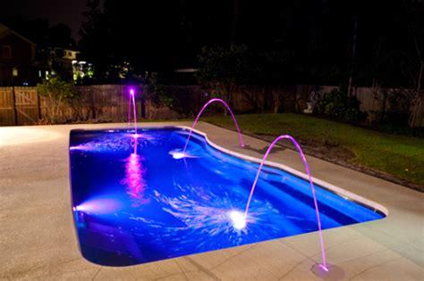 led inground pool light 5 reasons you need led pool lighting patio pleasures
