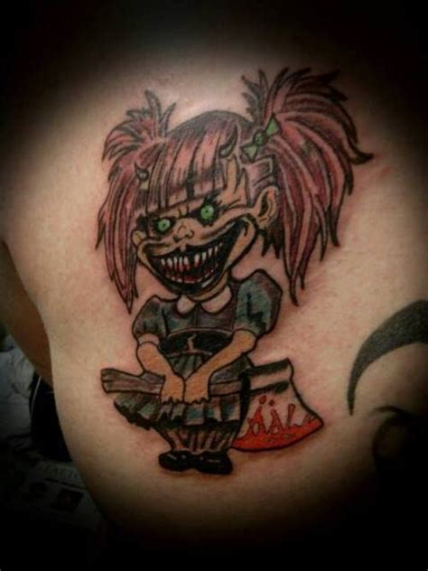 teufel satan daemonen und antichrist tattoos
