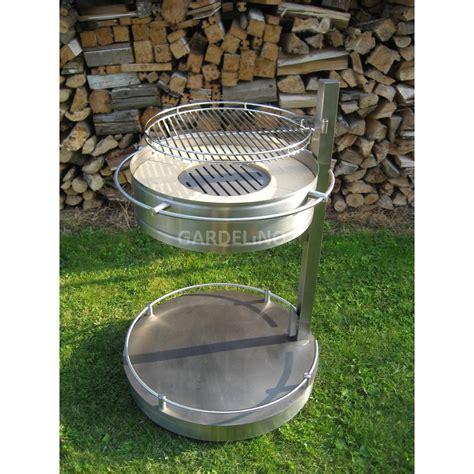 feuerstelle mit grill edelstahl grill und feuerstelle girse design columbus