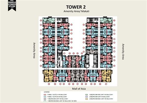 mall of asia floor plan smdc s residences