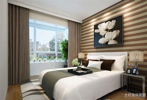 peace wallpaper for bedroom 现代简约卧室壁纸装修效果图 土巴兔装修效果图