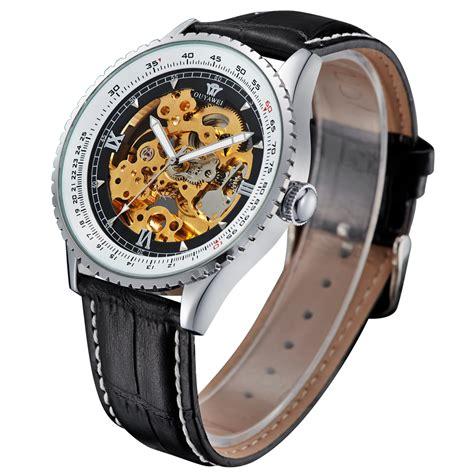Jam Tangan Keren Murah Rolex Skeleton R07 Combi Gold Plat White jam tangan pria automatic murah jualan jam tangan wanita