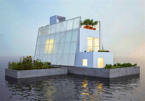 carl turner s floating house is a sustainable solution for