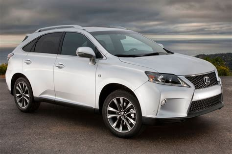 lexus jeep 2014 updated 2014 lexus rx350 priced at 40 670 rx450h at 47 320