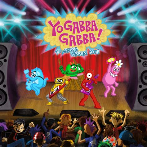 gabba gabba hey yo gabba gabba yo gabba gabba hey zavvi exclusive vinyl