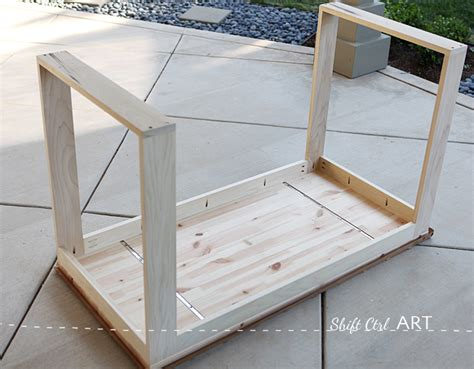Ikea Hack How To Build A White Desk With A Miter Saw And White A Frame Desk