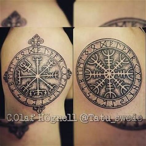 aegishjalmur tattoo aegishjalmur vegvisir www pixshark images