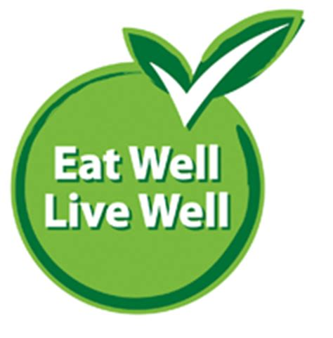 what is the logo for a nutritionist eat well live well symbol