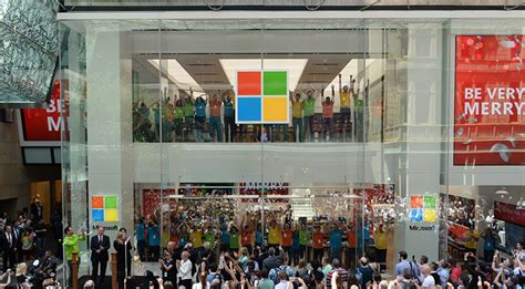 microsoft store westfield sydney on pitt street mall