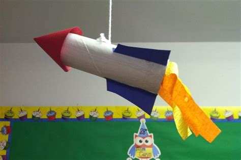 How To Make A Rocket Ship With Paper - 17 best images about outer space crafts on