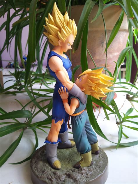 Banpresto Dramatic Showcase Z Dsc Majin Vegeta Trunks Set dramatic showcase z 2 vegeta trunks jpg